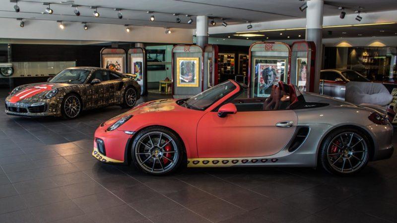 Porsche Pop Art